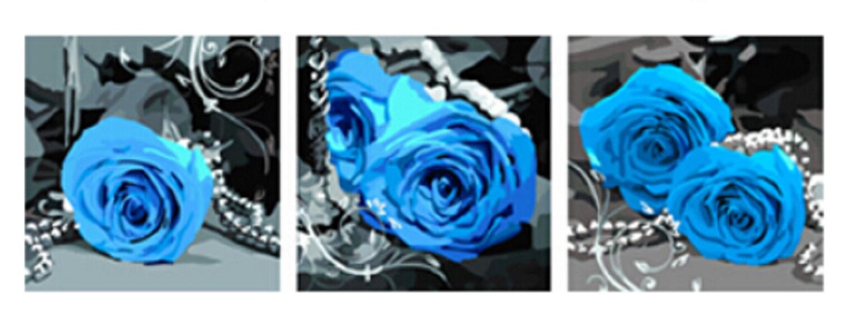 herr malen nach zahlen f r erwachsene xxl mit aufgespannter staffelei 3 bilder 50cm x 50 cm. Black Bedroom Furniture Sets. Home Design Ideas
